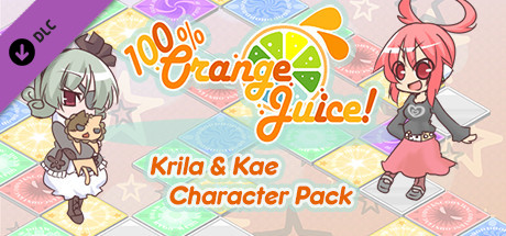 Picture of 100% Orange Juice - Krila & Kae Character Pack
