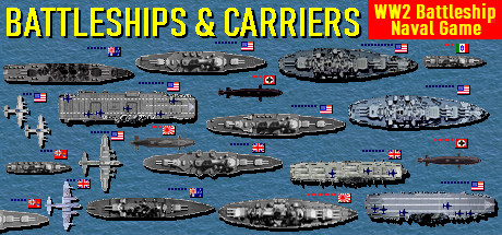Battleships and Carriers - WW2 Battleship Game