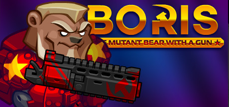 Picture of BORIS the Mutant Bear with a Gun