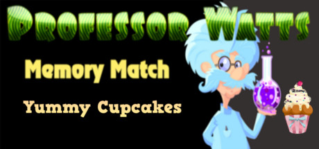 Picture of Professor Watts Memory Match: Yummy Cupcakes