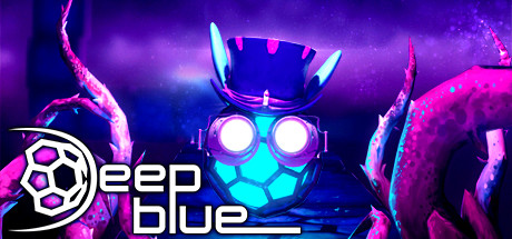 Deep Blue 3D Maze in Space
