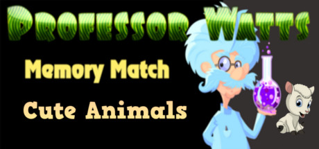 Picture of Professor Watts Memory Match: Cute Animals